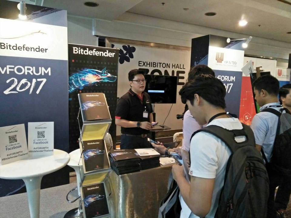 Bitdefender Thailand Joined to vForum2017 on Nov 14,2017