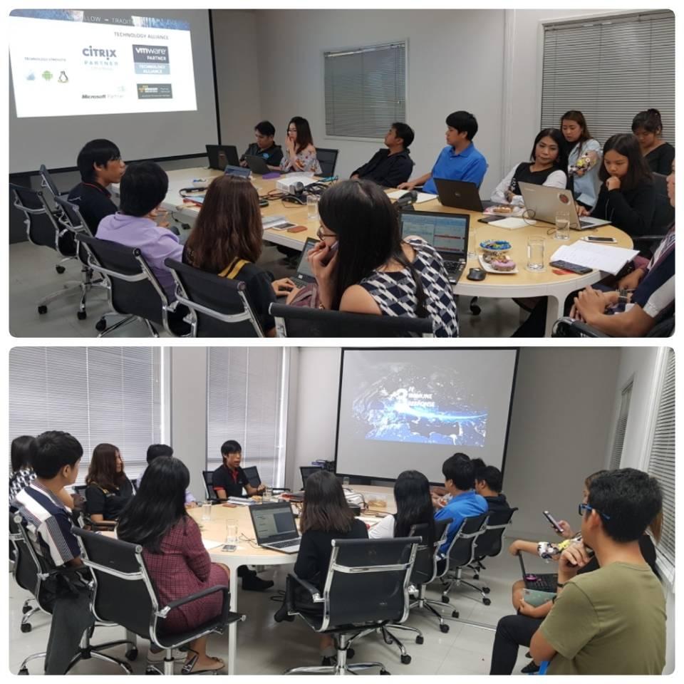 Bitdefender training with Internet Solution & Service Provider Co., Ltd.