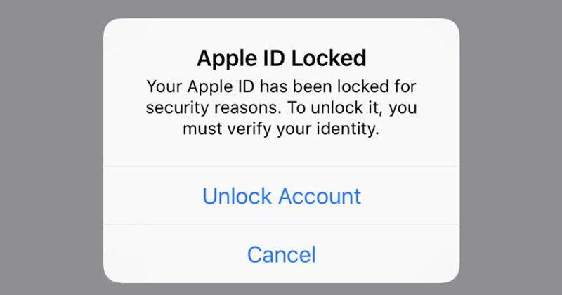 Apple says nothing as Apple ID accounts mysteriously locked down