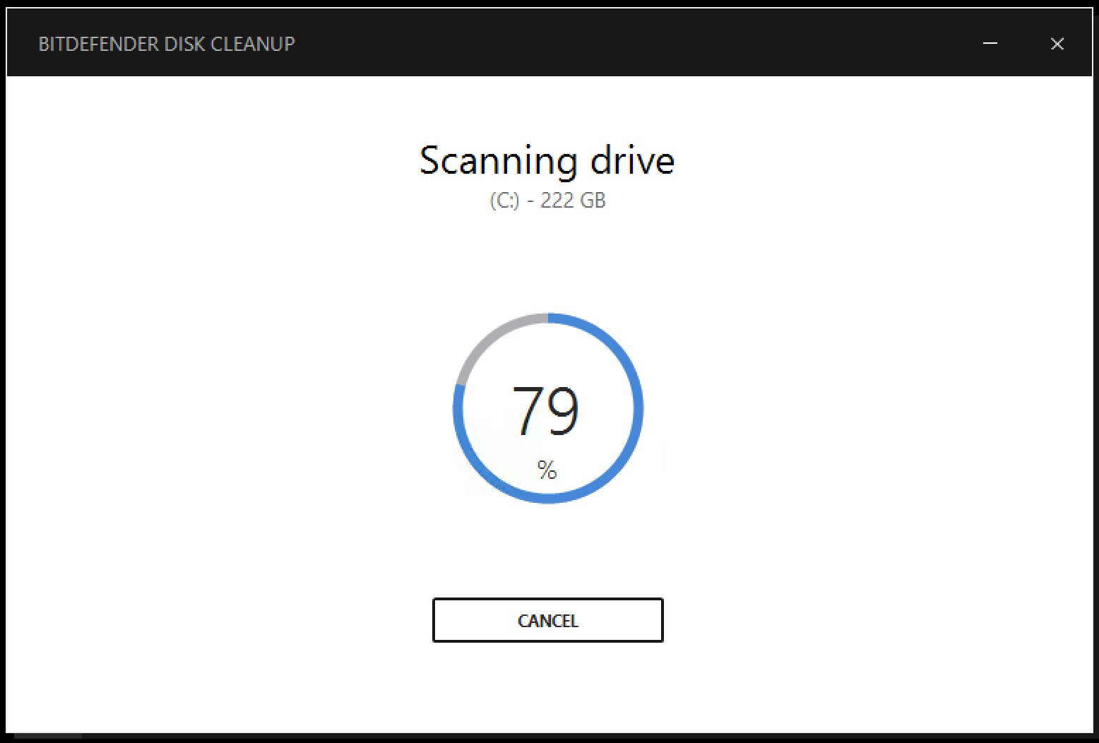 How to optimize your hard disk space using  Disk Cleanup in Bitdefender 2017