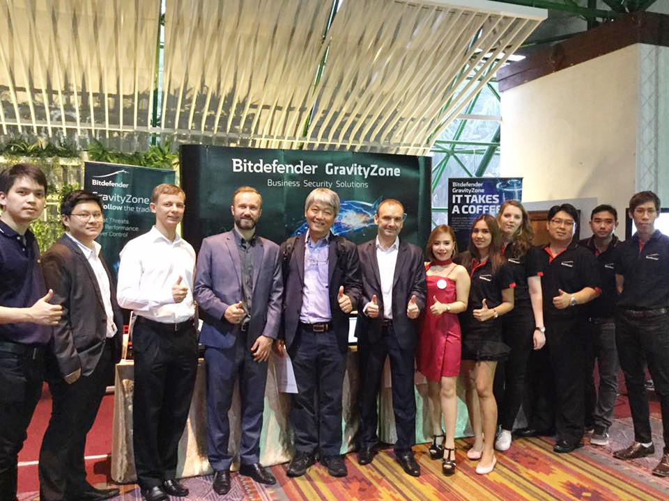 Bitdefender (Thailand), Platinum Sponsor in SiS Technology Showcase, Bangkok, August 22nd, 2017