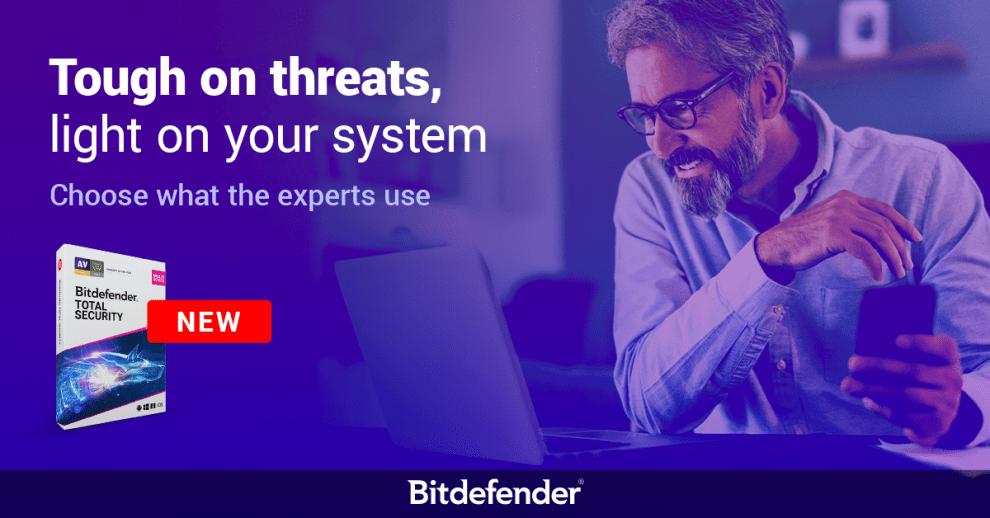 Bảo vệ tốt hơn với Bitdefender phiên bản mới