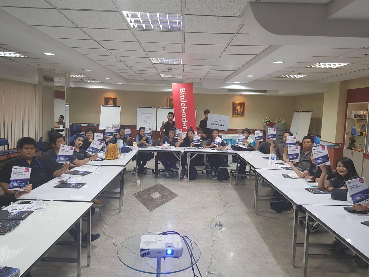 Bitdefender training with IT CITY