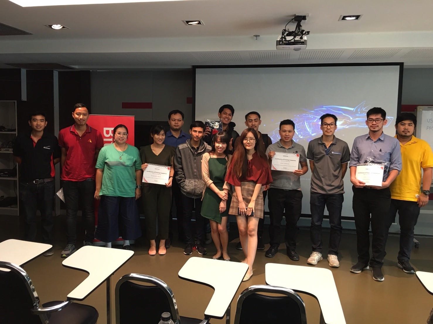 Bitdefender training with SIS on November 2018