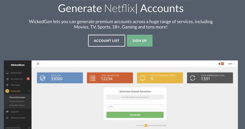 Man arrested for selling one million Netflix, Spotify, Hulu passwords