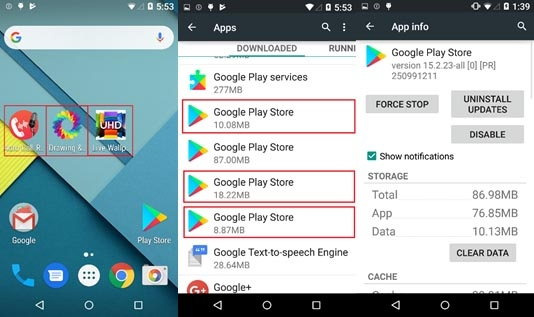 Adware packed Android apps